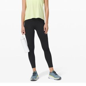 """Lululemon Fast and Free Tight 25"""" Non- Reflective"""